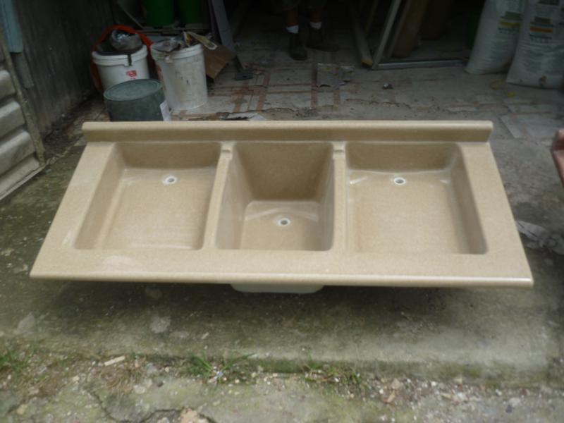 Pilas en granito sintetico marmol tico - Mueble pila lavadero ...