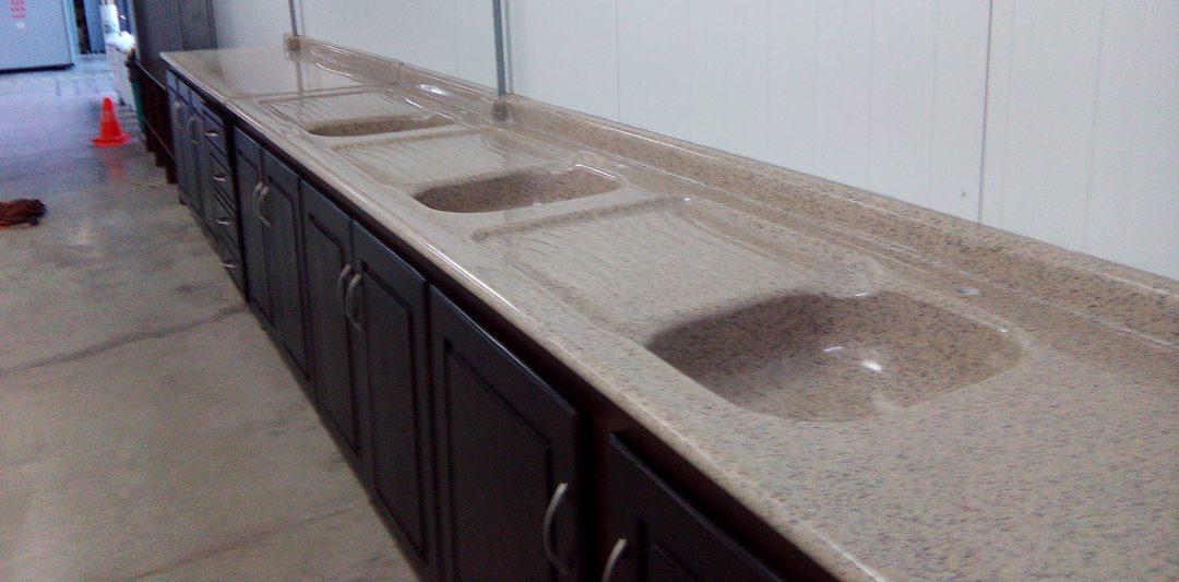 Sobres de granito sint tico sobres de cocina ba os y pilas for Revestimiento sintetico para banos